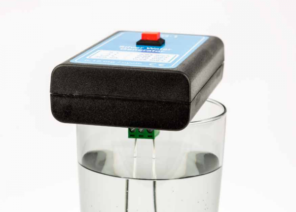 Silver-water-generator